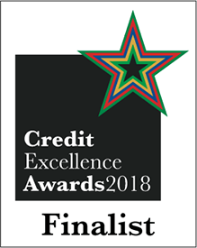 Credit Excellence Award - Alternative Lender of the Year - Finalist 2018