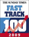 We came #62 in Sunday Times Fast Track 2009
