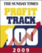 We came #15 in Sunday Times Profit Track 2009