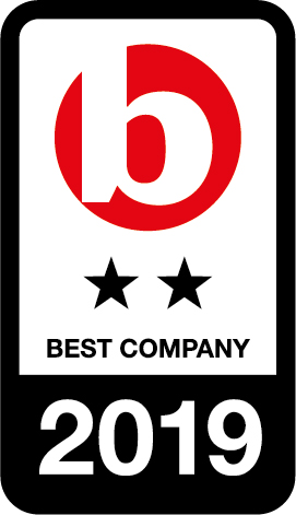 Best Companies - 2 Star 'Outstanding' Accreditation 2019