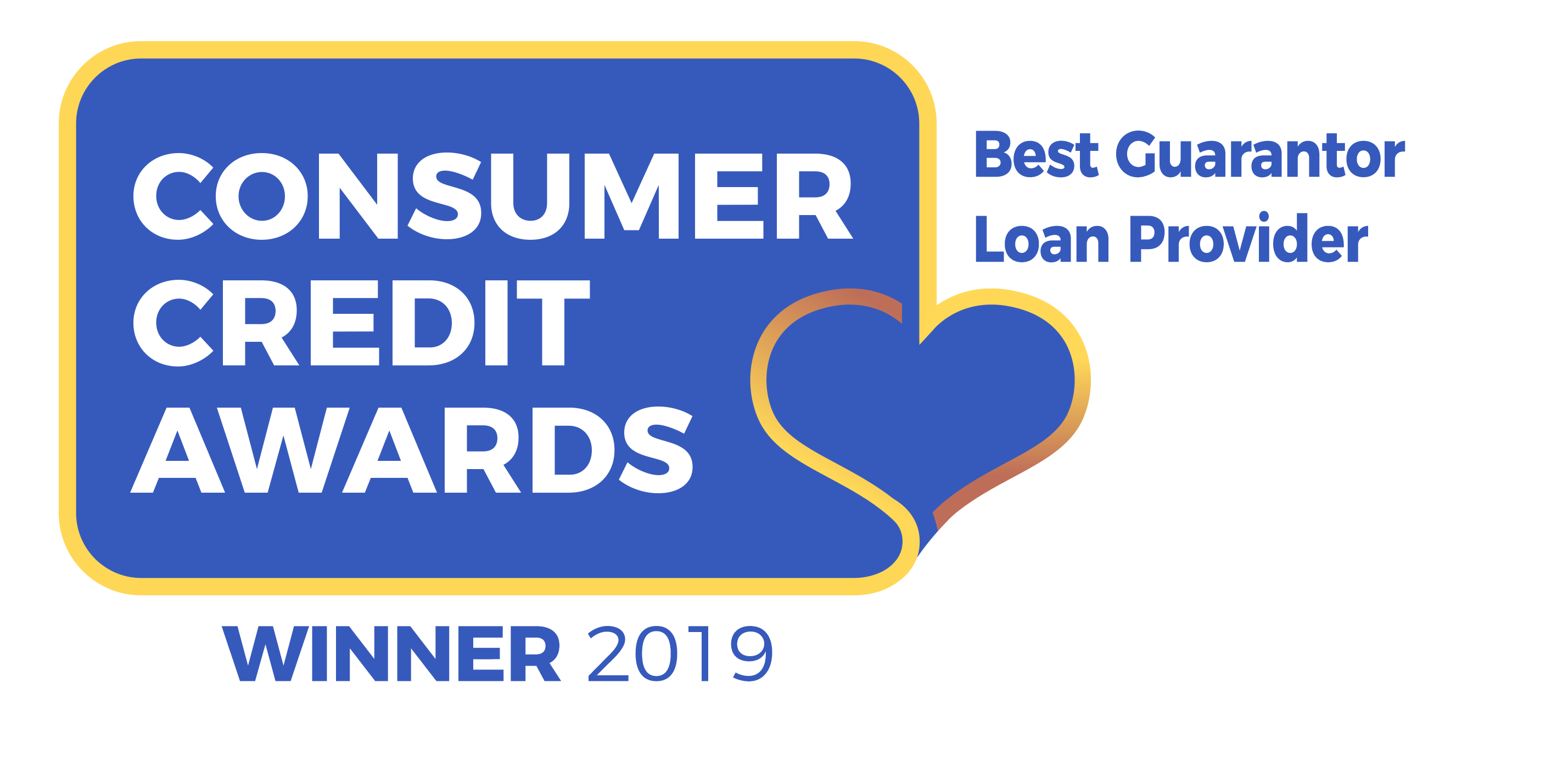 Consumer Credit Award - Best Guarantor Loan Provider 2019