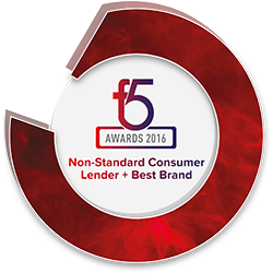 Non-standard Consumer Lender of the Year 2016 F5 Awards