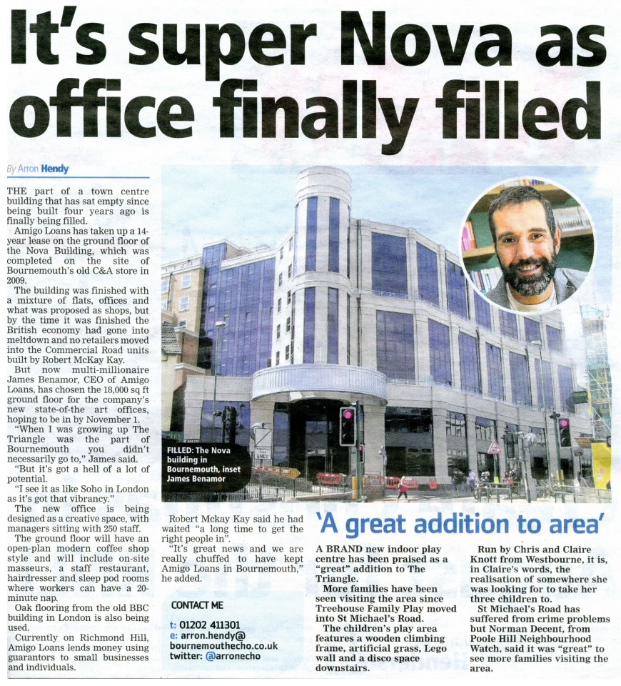 It's Super Nova as office finally filled